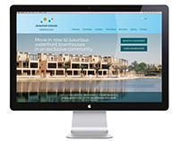 Microsite Design | Jumeirah Islands Townhouses, Nakheel