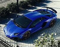 Lamborghini Aventador SV - CGI & Retouching