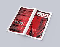 Free DL bi-fold leaflet mockup