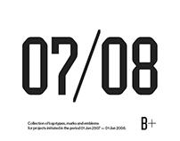 Logotypes & Marks 2007 — 2008