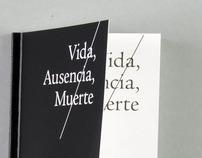 Poetry Book // Vida, Ausencia, Muerte