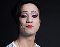 Makeup Drag Queen Geisha