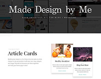 Web UiConcept design.