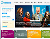 College Board Responsive Website + Marketing