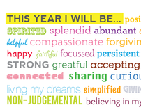 This Year I will be....