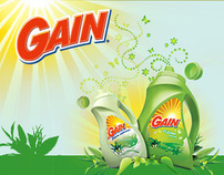 Official Gain Detergent Mobile Site