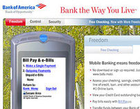 Bank of America Microsites