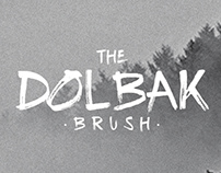 THE DOLBAK BRUSH - FREE FONT