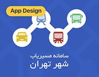 Tehran Path Finder