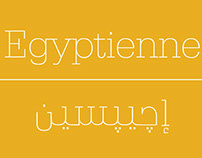 Egyptienne Font - Arabic Version