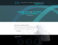 IBM Watson Website Redesign