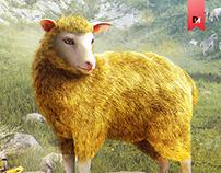 Золотая овца