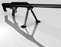 3D Model - Barrett M99