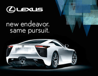 Lexus LFA iPhone Expandable Ad