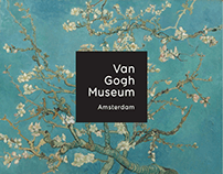 Van Gogh Museum — Website Redesign Concept