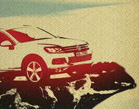 VW Touareg Direct Mailings
