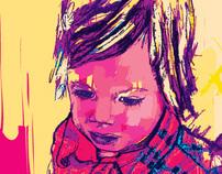 Contemporary Portraits - Digital Drawing 16
