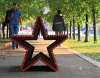 Star-Bench lavka-zvezda