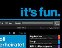 RTL II . Website