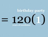 Invitation | 40th Birthday Party