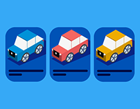 How to choose your car - isometric illustrations