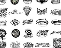 Some Logotypes designed by Alex Ramon Mas