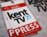 KentTV 21 Branding