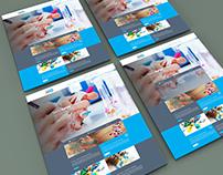 Pharmaceutical Company Website Design