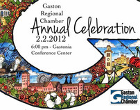 Logo for Gaston Regional Chamber's Annual Fundraiser