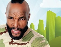 I Pity the Fool Off-Air Print Campaign