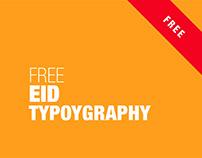 FREE EID TYPOGRAPHY 2018