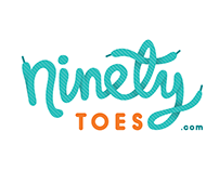 Logo Identity for ninetytoes.com