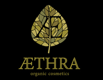 AEthra Logo and Visual Identity