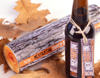 MEKFARTIN OAKED BEER - package design