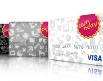 Cashberry Logo and Credit Cards