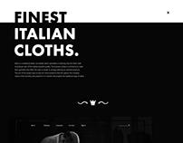 Attire | Desktop & Mobile concept