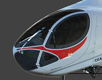 Helicopter design and R&D for Cicaré S.A.