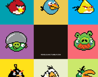 Pixel Art - Angry Birds fan_art