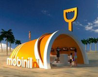 Mobinil Summer Kiosk | Booth Design