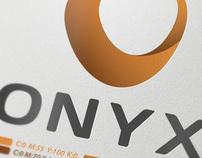ONYX Logo and Stationary Redesign