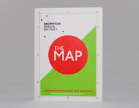 Brompton Design District Booklet and Map