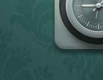 Clock Icon for iOS / Android