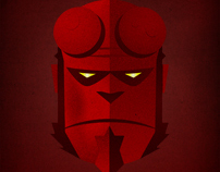 Hellboy Illustration