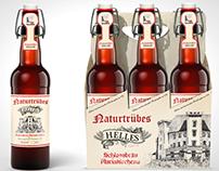 German craft beer, label design