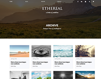 Ethereal Multipurpose Website Concept