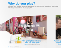Nintendo Tell Us Your Story