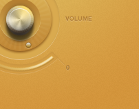 Volume Control and Button - Concept