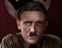 Adolf Hitler.  A good book keeps you entertained.
