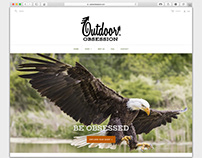 Outdoor Obsession web design