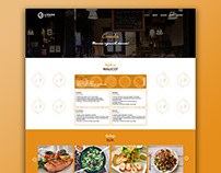 LIVADA | Restaurant website design